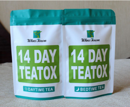 China free shipping herbal detox tea 100% plant extract 14days teatox slimming tea fat burning reducing big belly supplier