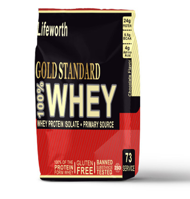 Butterscotch Flavor Whey Protein Chocolate Powder / Whey Protein Isolate