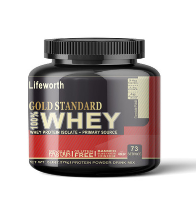 China Butterscotch Flavor Whey Protein Chocolate Powder / Whey Protein Isolate supplier