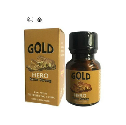 HERO GOLD 10ML Ultra Strong Effect Original Sex Products For Gay Man And Women