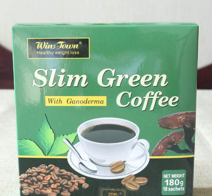 Herbal Extract Slim Green Coffee Safe Weight Loss Supplements With Ganoderma